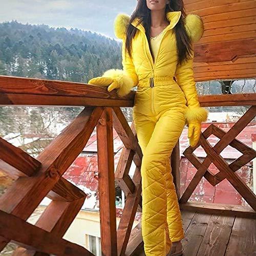 Tenflyer Traje de esqu/í para Mujer Traje de Nieve c/álido de Invierno para Mujer Pantalones Deportivos al Aire Libre Traje de esqu/í Mono Impermeable,Pantalones Deportivos al Aire Libre Traje de esqu/í