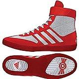 adidas Men's Combat Speed.5, White/Core Red, 4.5 M US