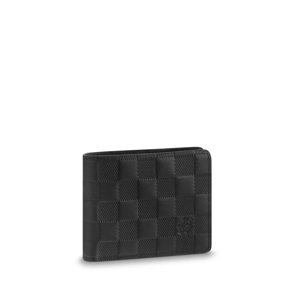 3e21cfd54bf1 Louis Vuitton Damier Infini Leather Onyx Slender Wallet N63263  Amazon.ca   Clothing