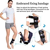 Ankle Rigid Brace with Foam Splint for Sprains Arthritis Pain Dislocation Fracture Severe injury relief -Medical Orthopedic(Left Foot-Medium)