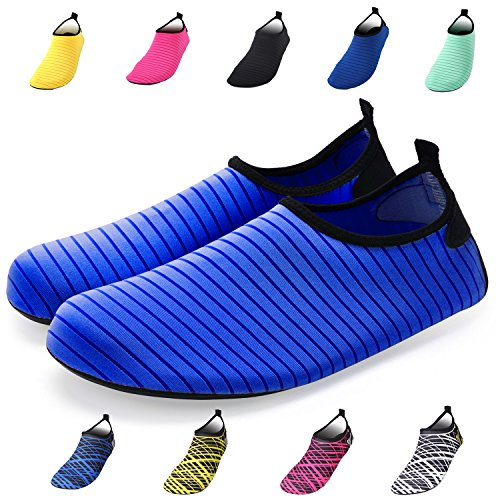 Barefoot Socks and Women Men Shoes Water Quick Blue Dry Bridawn for Shoes nWqz1w8xO