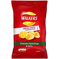 Walkers Tomato Ketchup 25g x - 6 per pack