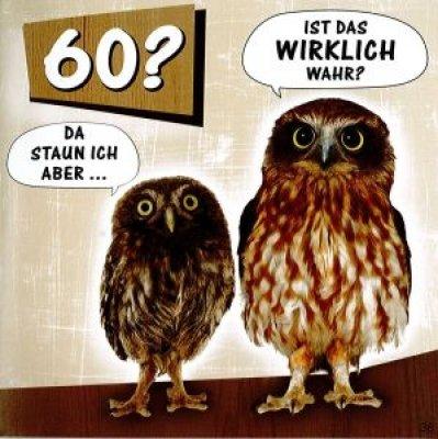 Lustige gluckwunschkarten zum 60 geburtstag