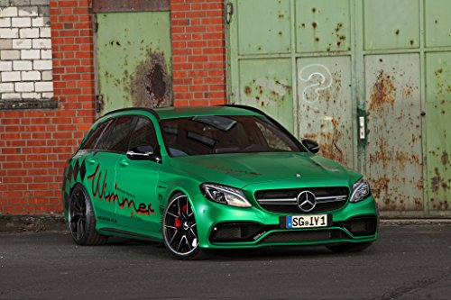 Mercedes-Benz AMG C 63 S Estate RST by Wimmer  Car Print on