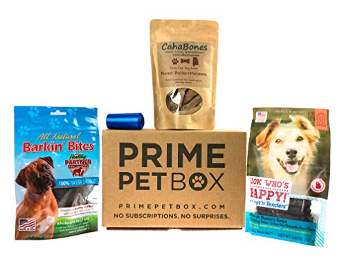 Prime Pet Box Grain Free Treats (Dog Gift Box)