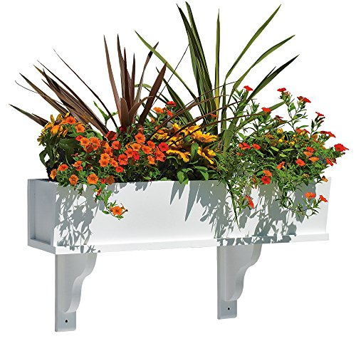 Good Directions Planter - Good Directions Lazy Hill Farm Designs Montauk Composite PVC Window Box - 42