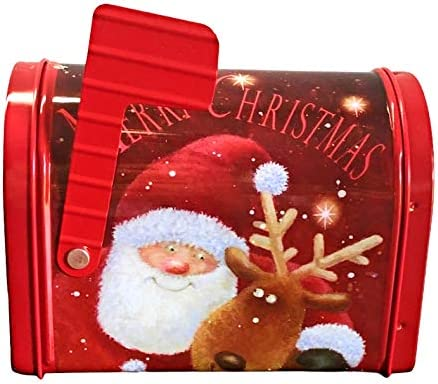 Box Cesto Confezione Regalo Gastronomico Natale 2020 Originale in Cassettina della Posta Natalizia con 1 Confettura Pesca e Zafferano 1 Battuta di Peperoncino alle Ciliegie