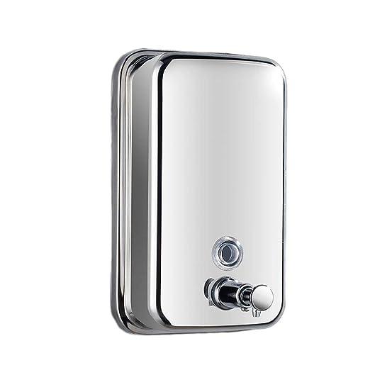 Wghz Dispensador de jabón, dispensador de jabón y líquido de ...