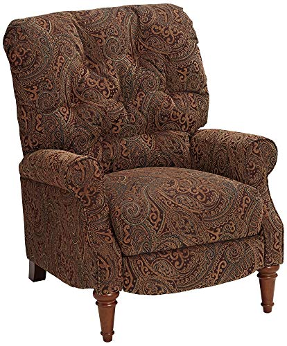 Paisley Vino Tufted Recliner Chair