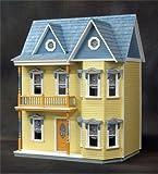 Dollhouse Miniature The Princess Anne Dollhouse Kit by RGT