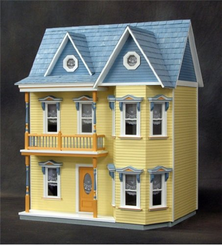 Dollhouse Miniature The Princess Anne Dollhouse Kit by RGT by Real Good Toys