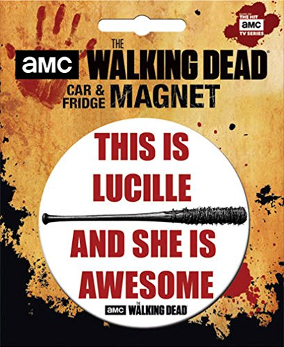 Ata-Boy The Walking Dead Die-Cut This is Lucille… Magnet for Cars, Refrigerators and Lockers -