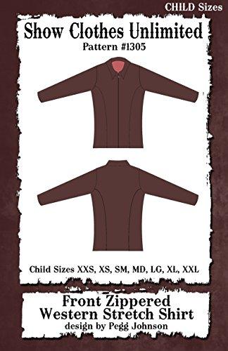 1305 - Child's Western Princess Seamed Stretch Shirt ()
