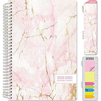 Amazon.com : HARDCOVER Academic Planner 2019-2020: (July ...