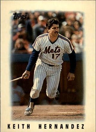 Amazoncom 1986 Topps Mini Leaders Baseball Card 53 Keith