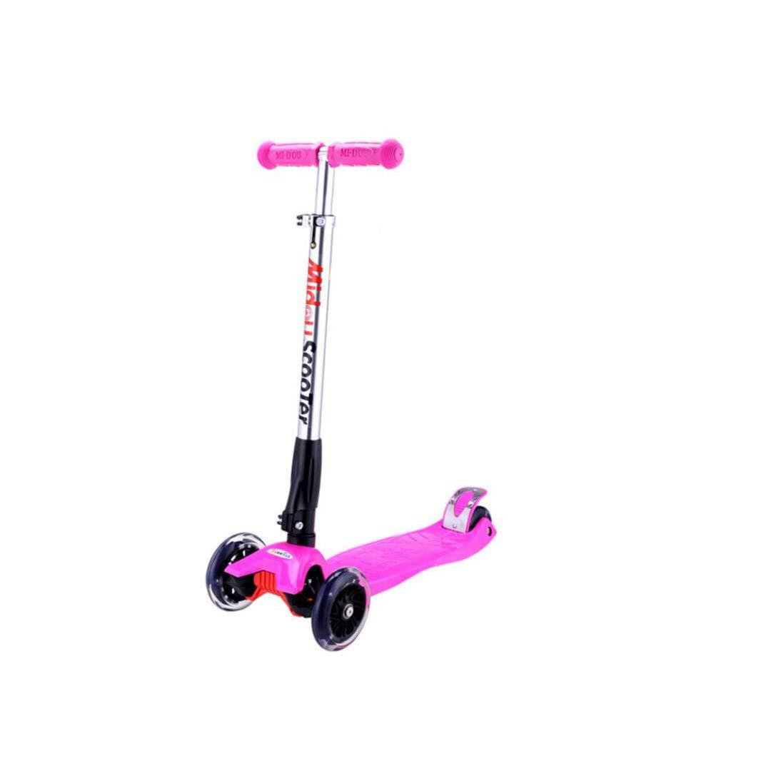大流行中! TLMYDD 子供の持ち上がる折りたたみスクーター大きな子供のPU点滅ローラー、57 x Pink 20 x 94 cm cm 子供スクーター x (色 : Red) B07NMT4JD4 Pink Pink, タイヤ屋 来人喜人 上和田店:4911dc74 --- a0267596.xsph.ru