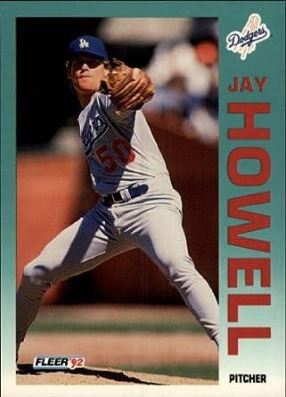 Amazoncom 1992 Fleer Baseball Card 460 Jay Howell Near