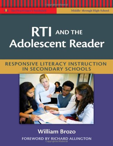 RTI and the Adolescent Reader: Responsive Literacy Instruction in Secondary Schools (Language and Literacy Series)