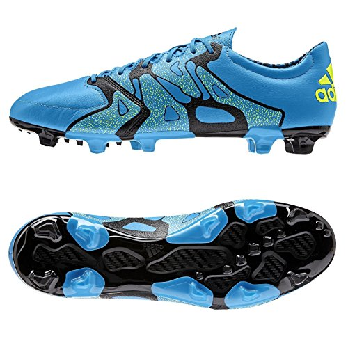 adidas Chaussures football 2 bleu Bleu Cuir FG X de Homme AG 15 r0frxnF