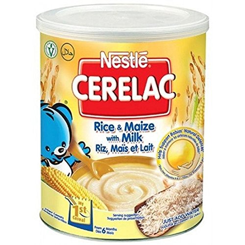 NESTLE CERELAC RICE + MAIZE WITH MILK