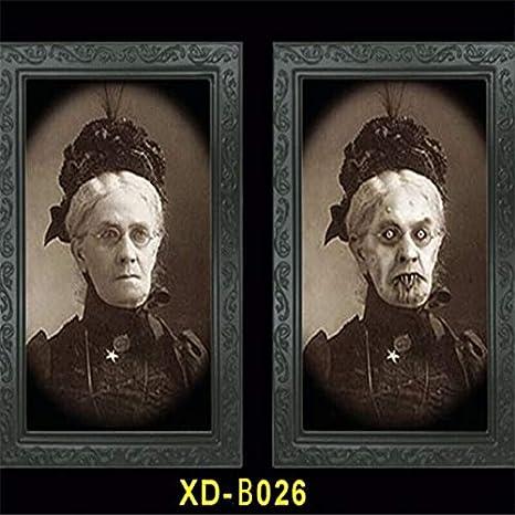 Marco de Fotos Fantasma 3D Marcos de Fotos de Terror Cambio ...