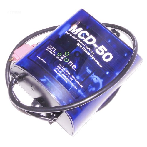 Mini Jj Cord (Del MCD-50RPOZM 110 Volt MCD-50 High Output Spa Ozone Generator With Mini JJ Cord)