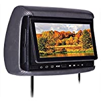 Concept Chameleon 9 Touch-Sensitive LCD Headrest Monitor w/ Built-in DVD Player
