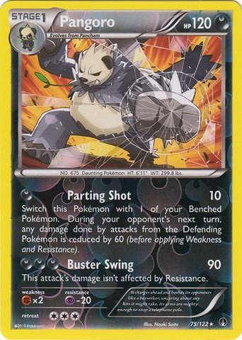 Pokemon Pangoro XY50 Holo