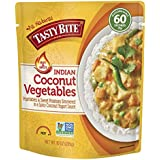 Tasty Bite Hot & Spicy Coconut Vegetables, 10 Ounce, Pack of 48