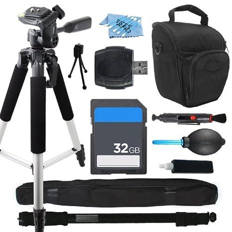Kit de accesorios de trípode profesional para Samsung NX300 NX1000 ...