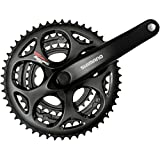 Shimano Tourney A073 170mm 30x39x50t 7/8-Speed Triple Crankset Black