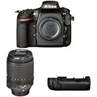 Nikon D810 FX-Format DSLR Camera with 18-140mm Lens Battery Bundle