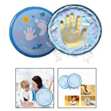 OFKPO Baby Hand and Footprint Kit with Non Toxic Clay Unforgettable Souvenir For New Babies And Parents