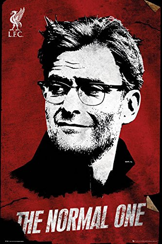 """FC Liverpool - The Reds - Soccer Poster / Print (Juergen Klopp - The Normal One) (Size: 24"""" x 36"""") (By POSTER STOP ONLINE)"""