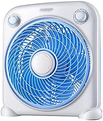WLJ Mini Ventilador doméstico Ventilador silencioso Suelo Ventilador Giratorio pequeño 33 * 11 * 35 cm A + (Color : Blue): Amazon.es: Hogar