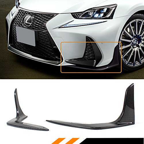 Fits for 2017-2019 Lexus IS200T IS350 IS300 F Sport Carbon Fiber Front Bumper - Lexus Carbon Fiber Is300