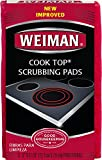 Weiman Cook Top Scrubbing Pads, 3 count