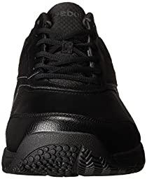 Reebok Men\'s Work N Cushion 2.0 Walking Shoe, Black/Black, 10 M US
