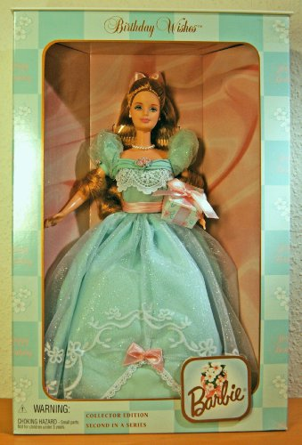 Mattel Birthday Wishes Barbie, Collector Edition, Second in a Series -