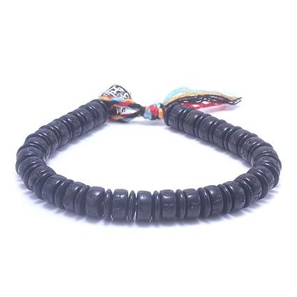 BRACLTS brazaletes Tibetano Budista Mano Trenzada Hombres ...