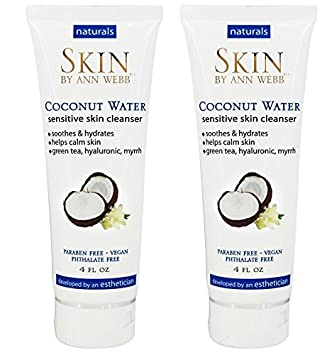 Skin by Ann Webb - Naturals Coconut Water Sensitive Skin Cleanser - 4 oz. Dermaquest Essentials B5 Hydrating Serum 1oz NEW FAST SHIP SEALED