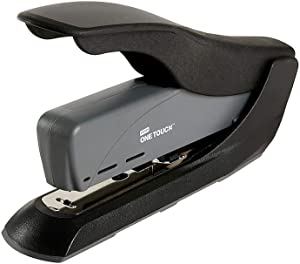 Staples One-Touch Heavy Duty Stapler, Fastening Capacity 60 Sheets, Black/Gray