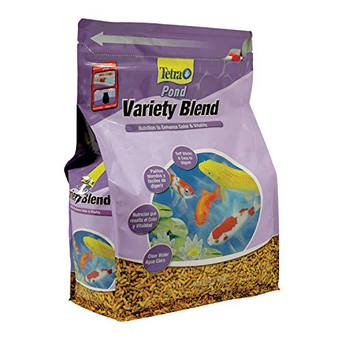 - TetraPond Variety Blend, Pond Fish Food, for Goldfish and Koi