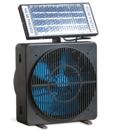 Solar Power Fan >> Amazon Com White Solar Powered Room Or Desk Fan Everything Else