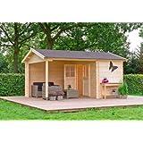 Gartenhaus venezia 40 blockhaus 576 x 300 cm holzhaus 40 mm neu garten - Gartenhaus frankfurt ...