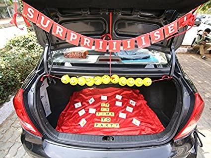Buy Oye Happy Surprise On Wheels D I Y Decorate Your Trunk Kit