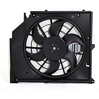 New Front Radiator Cooling Fan Assembly For 00 01 02 03 04 05 BMW 325i