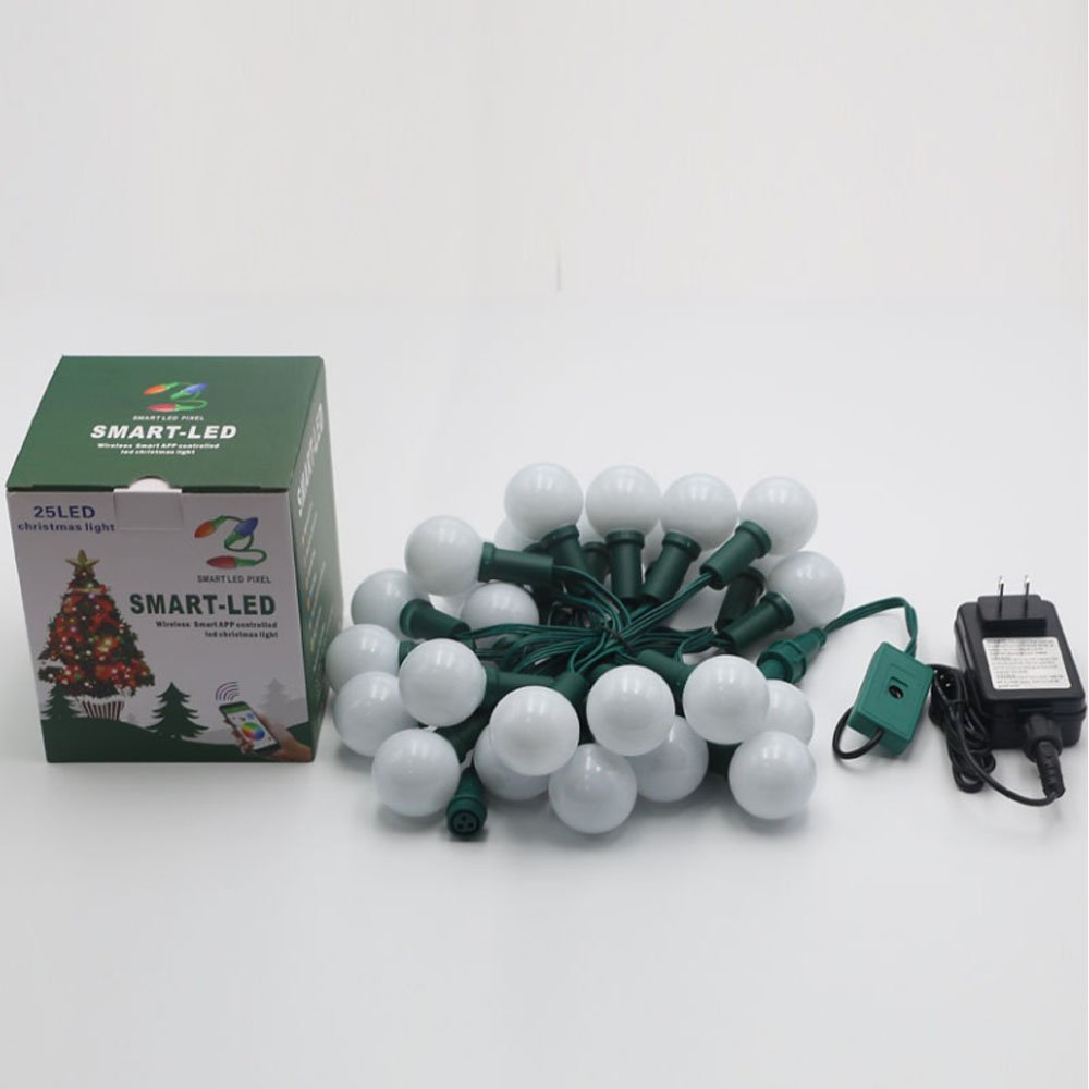 Amazon.com : Individually Pixel G40 Outdoor Led String Lights, with ...