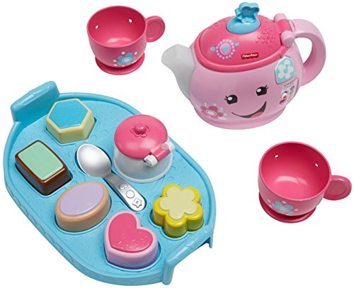 51XYj2qSfeL - Fisher-Price Laugh & Learn Sweet Manners Tea Set