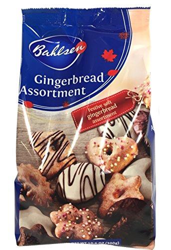Gingerbread Assortment, Lebkuchen Mischung, 10.6 oz (300g)
